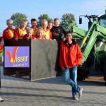 Strandvogels F1, sponsor Visser Oostwoud BV