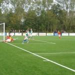 Merlijn Weel scoorde voor Strandvogels het enige doelpunt in de laatste derby in Andijk. Strandvogels kwam toen niet verder dan een 1-1 gelijkspel.