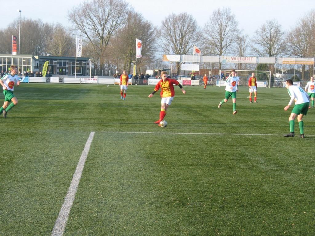 Dawid Zerek viel goed in maar kon het puntenverlies ook niet voorkomen.